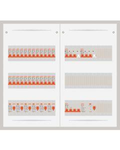 3 fase bedrijfsverdeler 40A met 24 lichtgroepen en 2 krachtgroepen