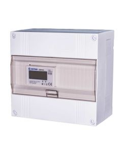 3 fase LCD modulaire kWh meter 100a in 12 modulen kast