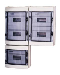60 modulen kast IP65