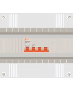 Hoofdschakelaar 4p 40a in 12 modulen kast met buisinvoer