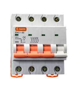 Installatieautomaat 3p+n 16a-c 6KA