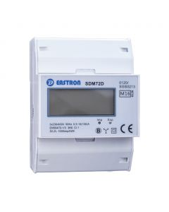 3 fase LCD modulaire kWh meter 100A MID