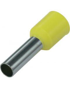 Geel 6mm2 lengte 18mm 100 stuks